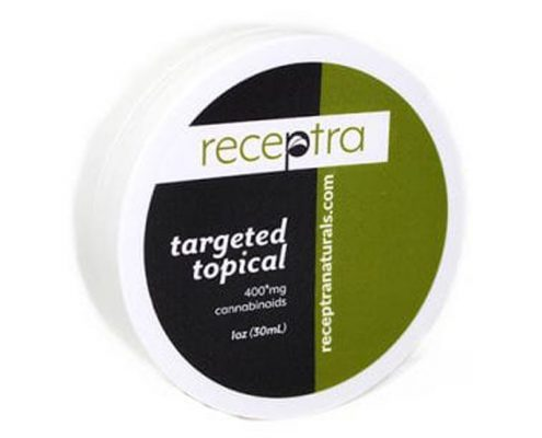 our number 2 pick receptra cbd targeted cream