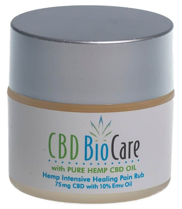 CBD BioCare CBD Hemp Intensive Healing Pain Cream